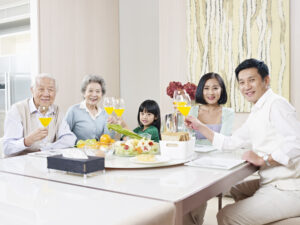 caring for elderly at home | eating