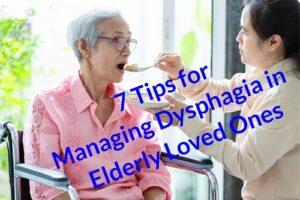 Managing Dysphagia in Elderly